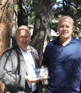 Outstanding Member Agency is Portland/BNSF Railway Company, Bill Gaffi and Bruce Roll pictured.