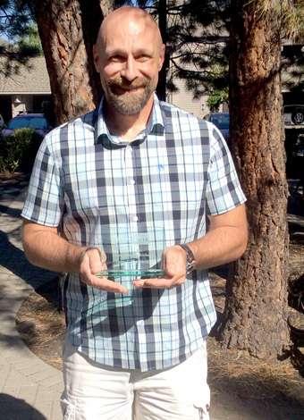Tony Gilbertson, 2016 Outstanding Individual award recipient